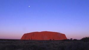 Uluru sunset July 14